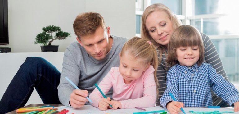 Число не пользующихся льготами семей с детьми составило 35%