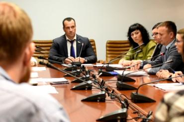 Совещание у Сенатора Совета Федерации Федерального Собрания РФ Эдуарда Владимировича Исакова