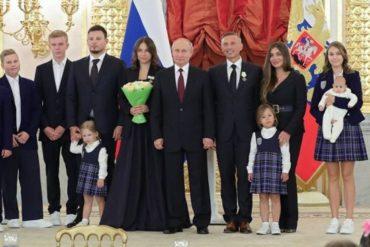 Путин сообщил о наличии идей по поддержке многодетных семей