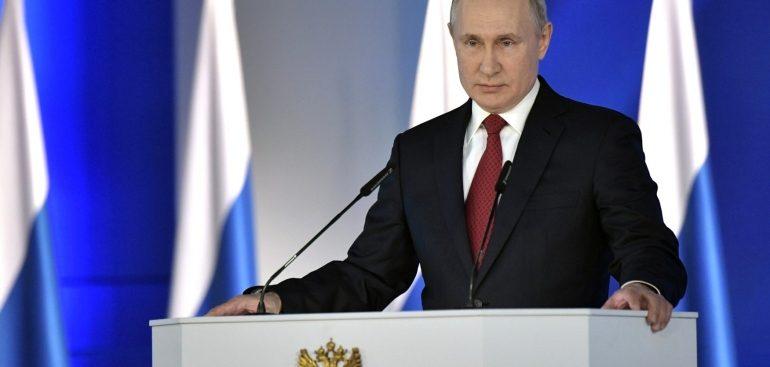 Путин предложил выдавать маткапитал после рождения первого ребенка
